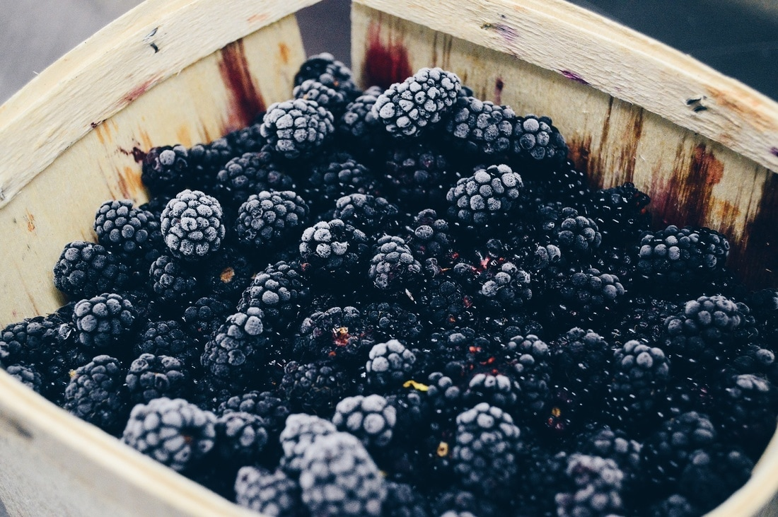 vegan blackberries